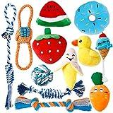 Toozey Welpenspielzeug - 12 Stück hundespielzeug unzerstörbar für Welpen & kleine Hunde -...
