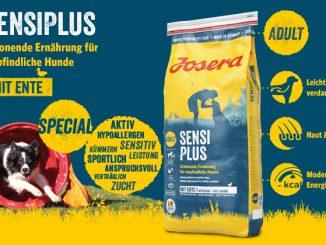 Josera SensiPlus Hundefutter mit Ente - ein Genuss!