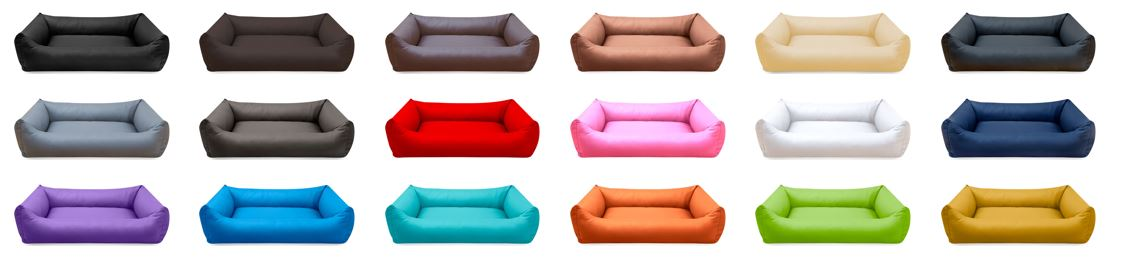 Hundebetten von mazuli.de in verschiedenen Farben